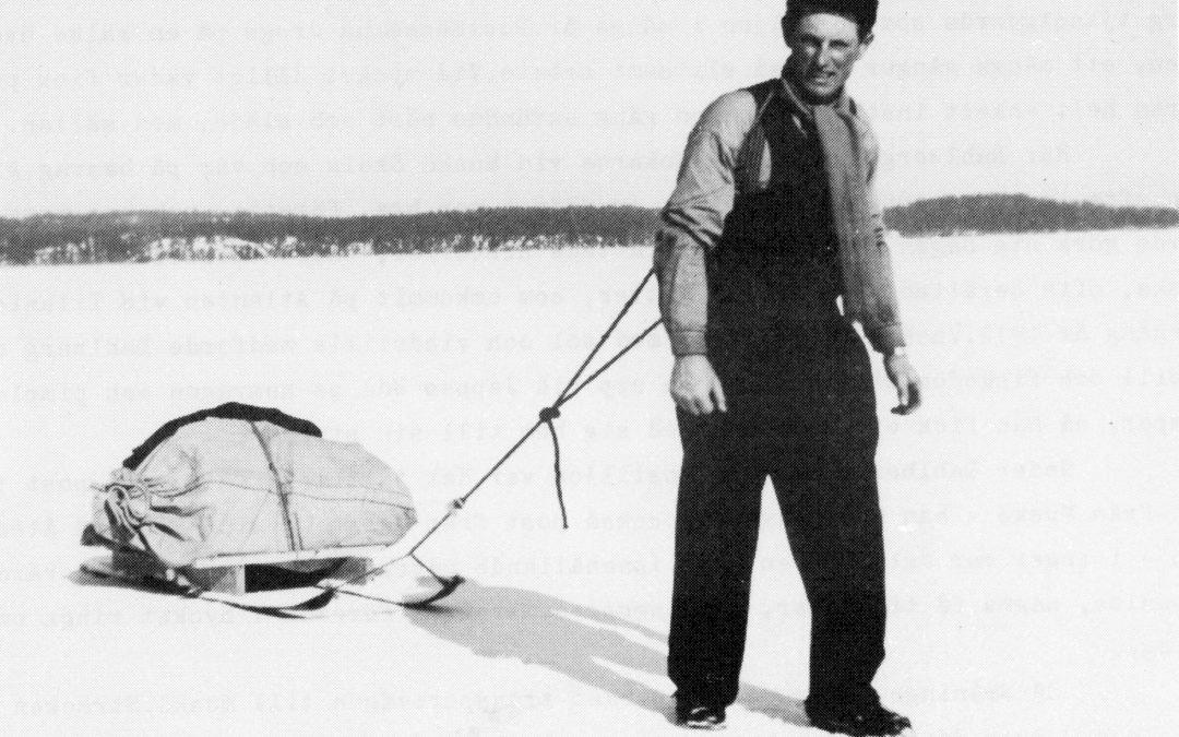 Hans Oskarsson, postförare.