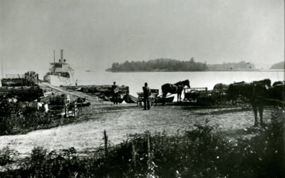 Ett gammalt fotografi – Valinge brygga 1901