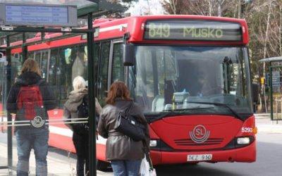 Tätare busstrafik på vardagar