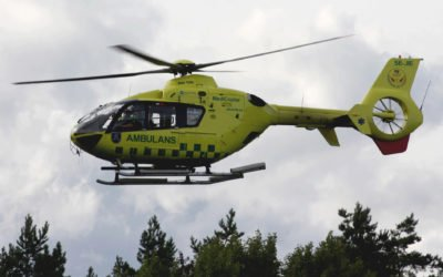 Haninge vill ha ambulanshelikoptern