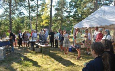 Landängens tomtägarförening firade 60 år