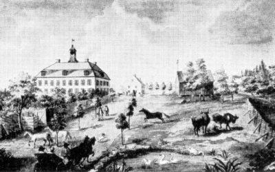 Ett gammalt fotografi – Ludvigsbergs herrgård