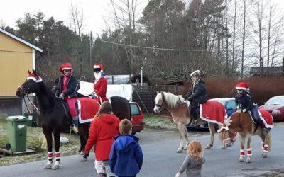 Hästsportföreningen spred julglädje