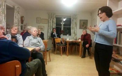 Politikermöte om pensionärernas framtid