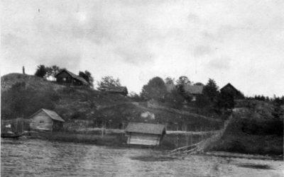 Ett gammalt fotografi – Gullboda gård