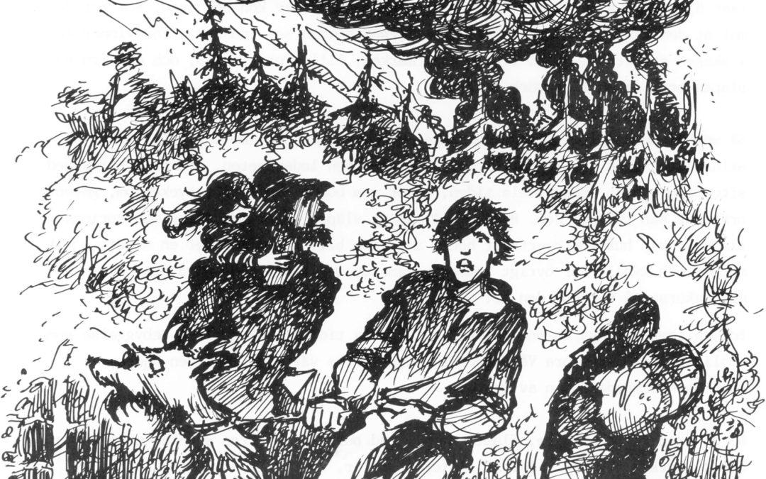 Rysshärjningarna 1719. Illustration: Sören Birkhammar.