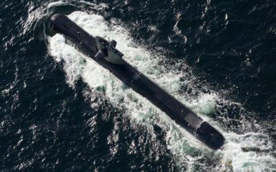 Försvaret övade ubåtsjakt
