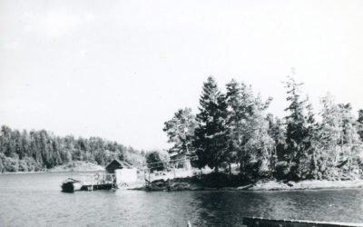 Ett gammalt fotografi – Brukets brygga