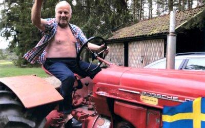 Ny traktor till Grytholmen