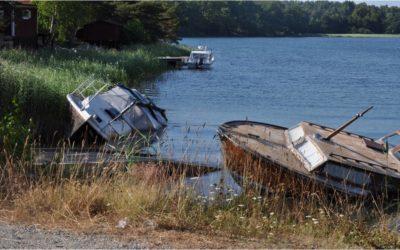 Gratis båtskrotning fram till nyår