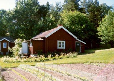 I det gamla 1700-talstorpet i Bergvik levde Bertils farmor och farfar.