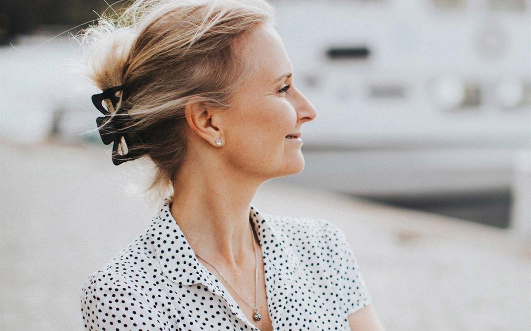 Eva Whitebrook, journalist och sommarbo på Muskö. Foto: Foto: Kajsa Göransson