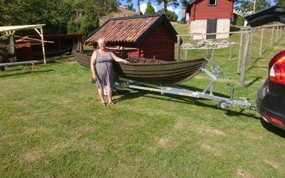 """Torsten Lindbergs båt blir """"lekbåt"""" för barnen på Tyresö Bygdegård!"""