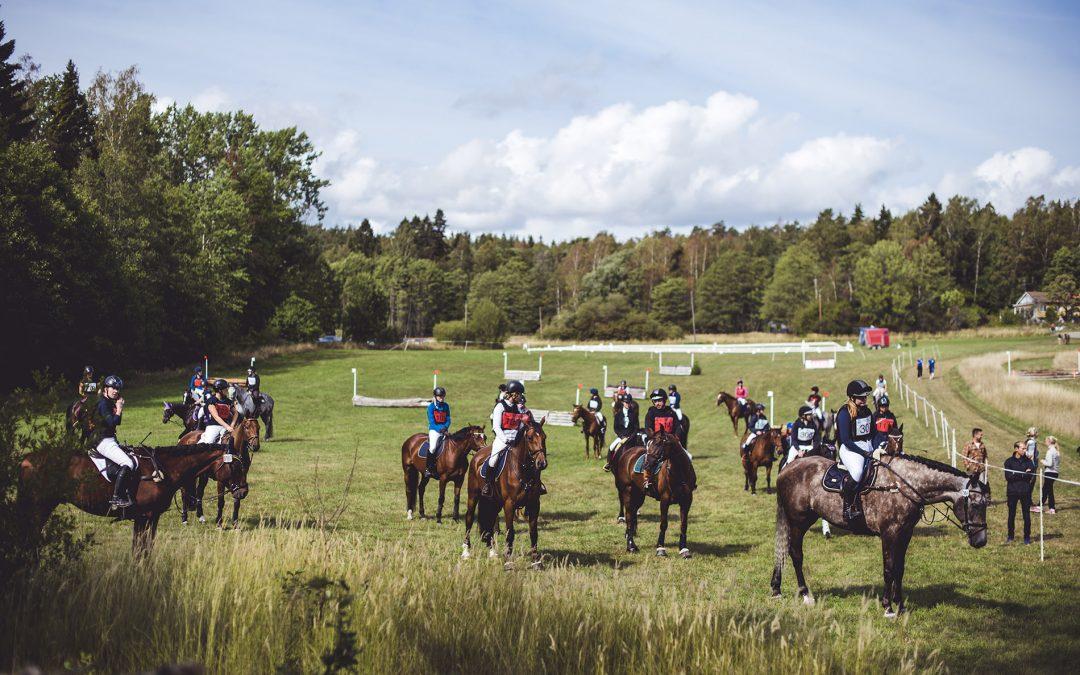 Arbottna Horse Show kunde genomföras trots pandemin!