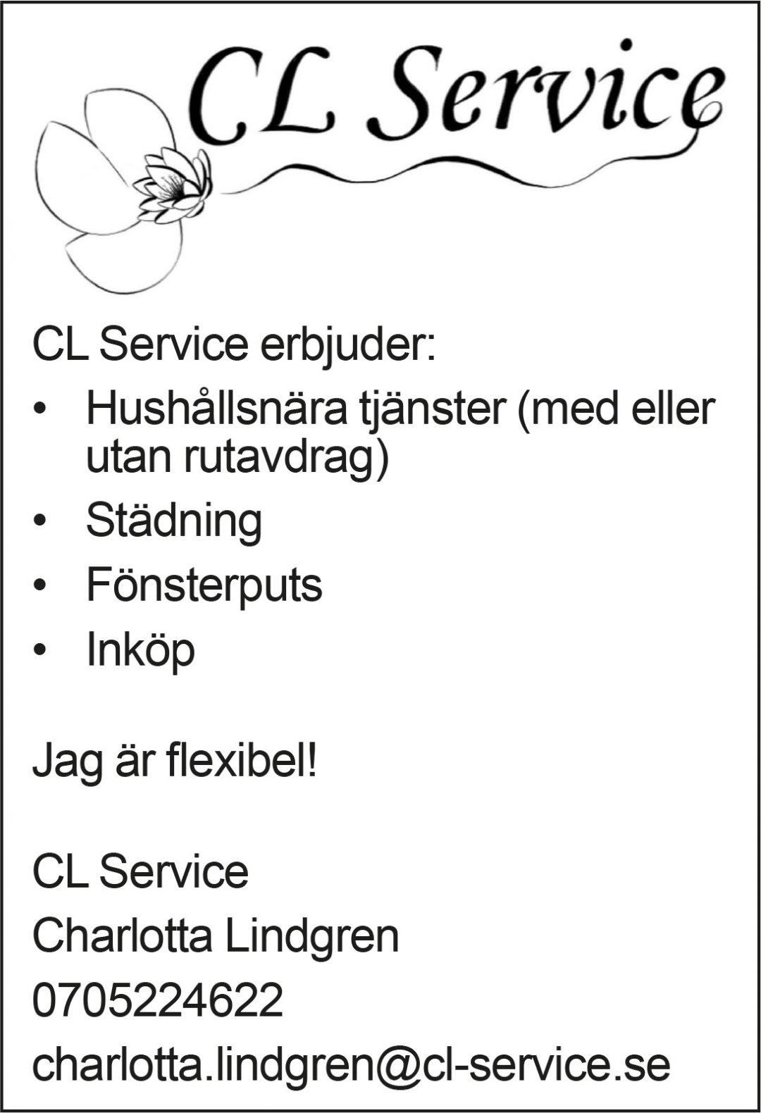Annons CL-Service
