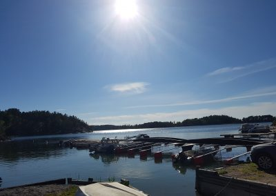 Torpas båtbrygga vid Nässelviken. Foto. Christin Svensson