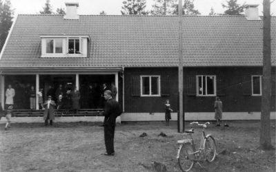 Ett gammalt fotografi – Muskös första hembygdsgård