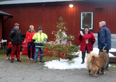 Tomtesmyget som Muskö IF anordnade för första gången blev ett uppskattat evenemang. Foto: Frida Söderström