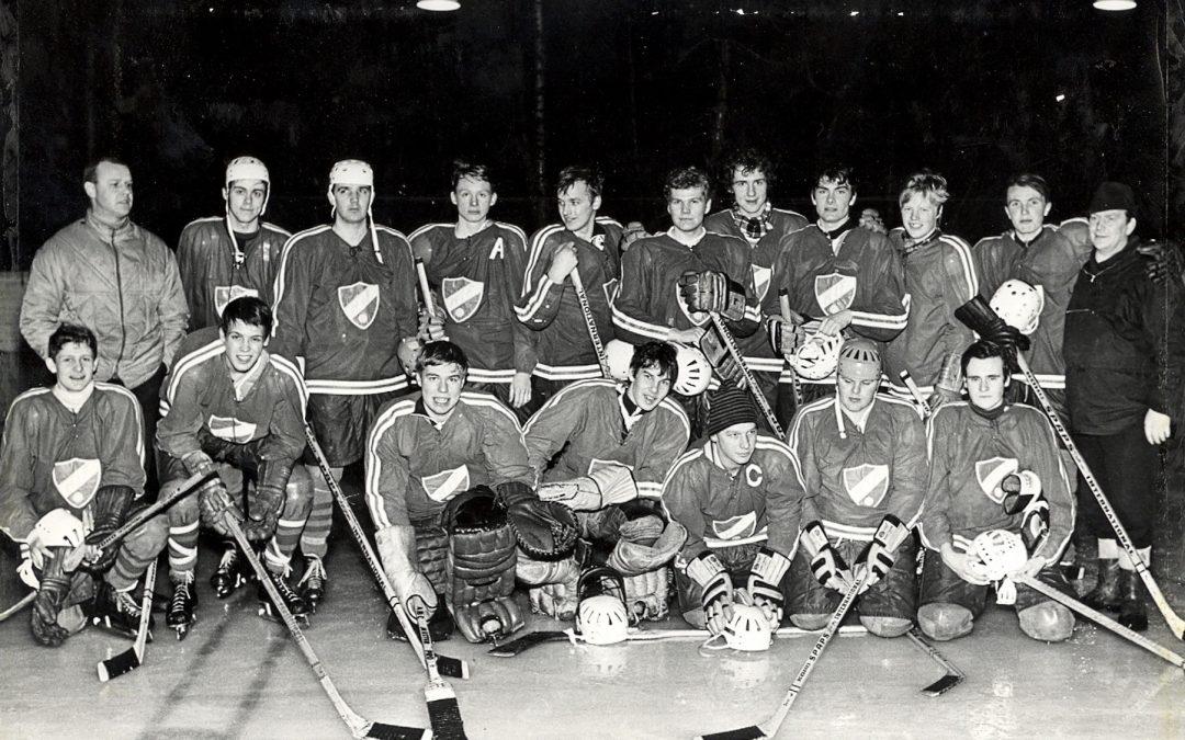 Muskö IF hockeylaget 1968