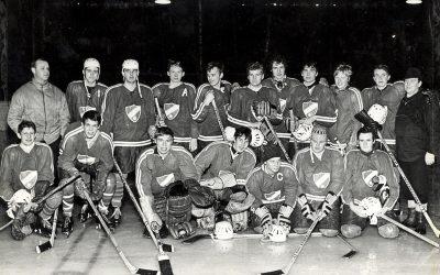 Ett gammalt fotografi – Muskö IFs ishockeylag 1968