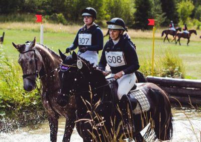 Arbottna Horse Show - Vattenhindret