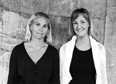 Båtskrotens grundare och ägare är Maria Rindstam och Josefin Arrhénborg.