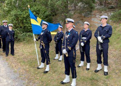 80 år sedan jagarolyckan vid Märsgarn. Foto: Bertil Oskarsson
